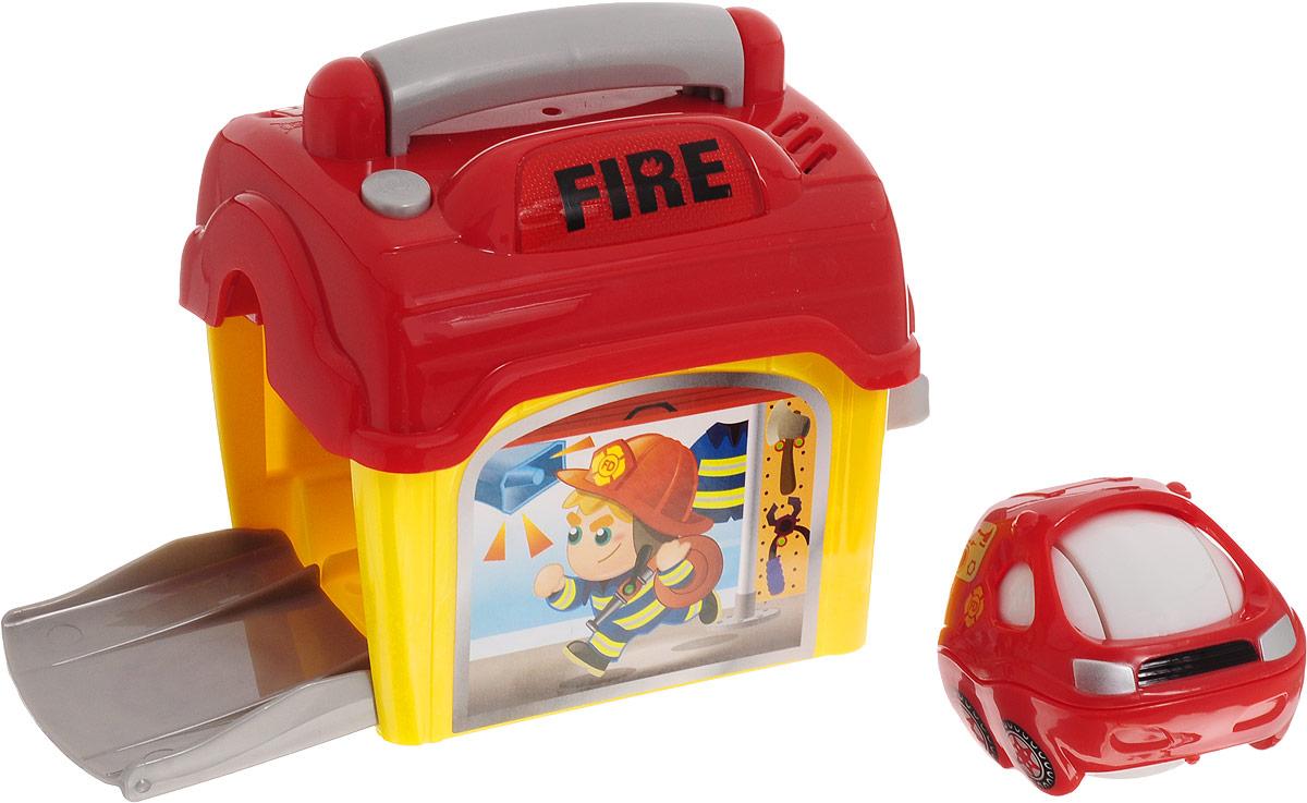 Playgo Развивающая игрушка Спасатели Пожарная часть сортеры playgo развивающая игрушка самолет сортер