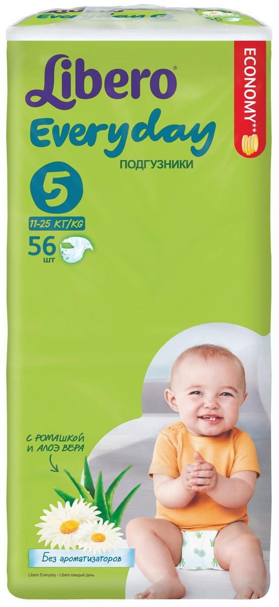 Libero Подгузники Everyday Size 5 (11-25 кг) 56 шт, SCA Hygiene Products