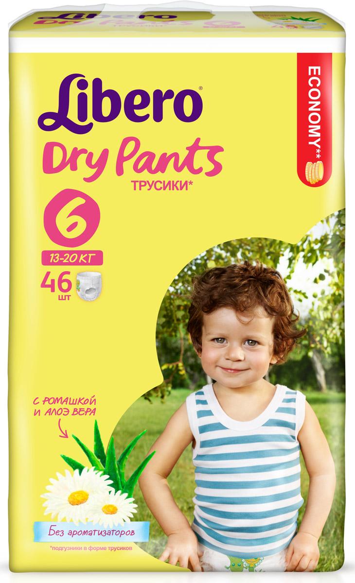 Libero Трусики-подгузники Dry Pants Size 6 (13-20 кг) 46 шт