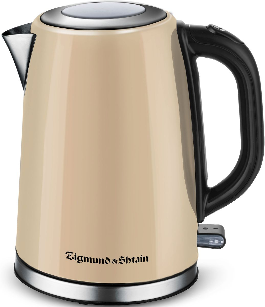 Zigmund & Shtain KE-717 электрический чайникKE-717Электрический чайник Zigmund & Shtain KE-717 станет незаменимым помощником на вашей кухне.Особенности:Механизм плавного поднятия крышки Soft-Lift,Контроллер Otter, Материал корпуса - нержавеющая сталь,Автоотключение при недостаточном количестве воды,Автоотключение при снятии чайника с базы,Автоотключение при закипании,Съемный фильтр, Закрытый нагревательный элемент.