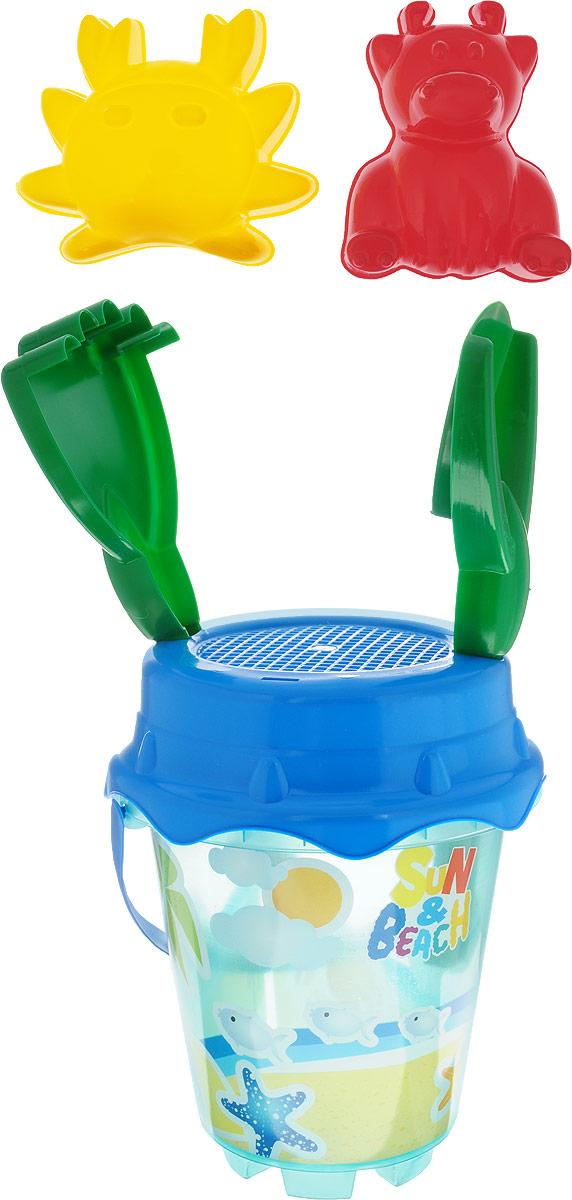 Unice Набор для песочницы Солнечный берег 6 предметов набор для песочницы battat ready beach bag с машинкой 11 предметов