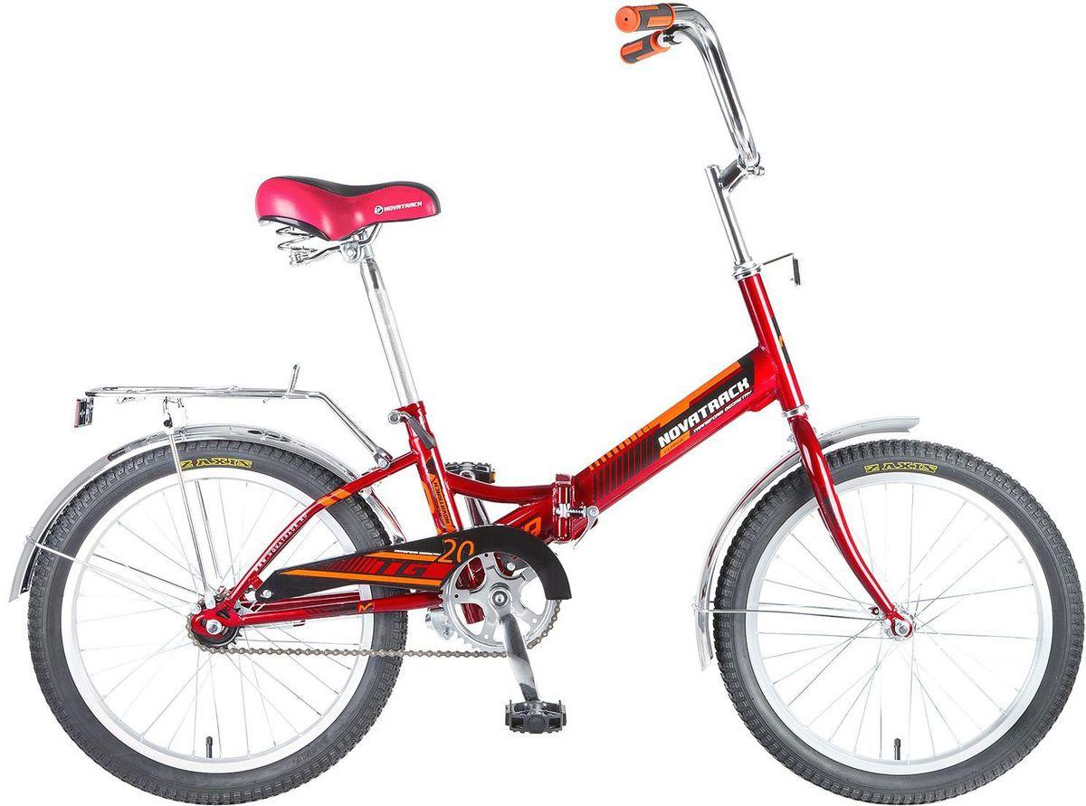 Велосипед детский Novatrack  TG-20 Classic , цвет: красный, 20  -  Детские велосипеды