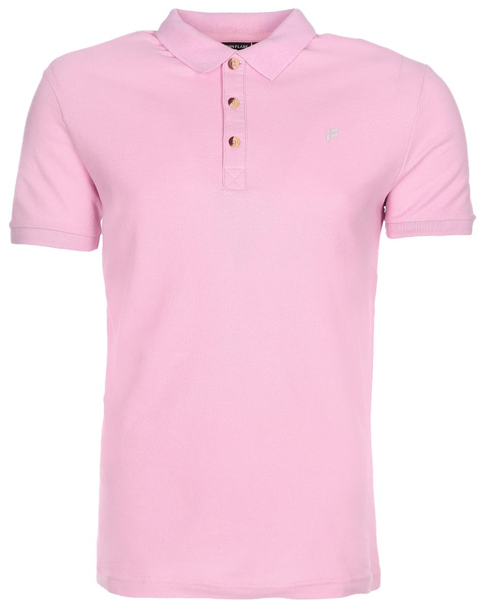 Поло мужское Finn Flare, цвет: розовый мрамор. S17-21024_812. Размер M (48) finn line fi616awlim29