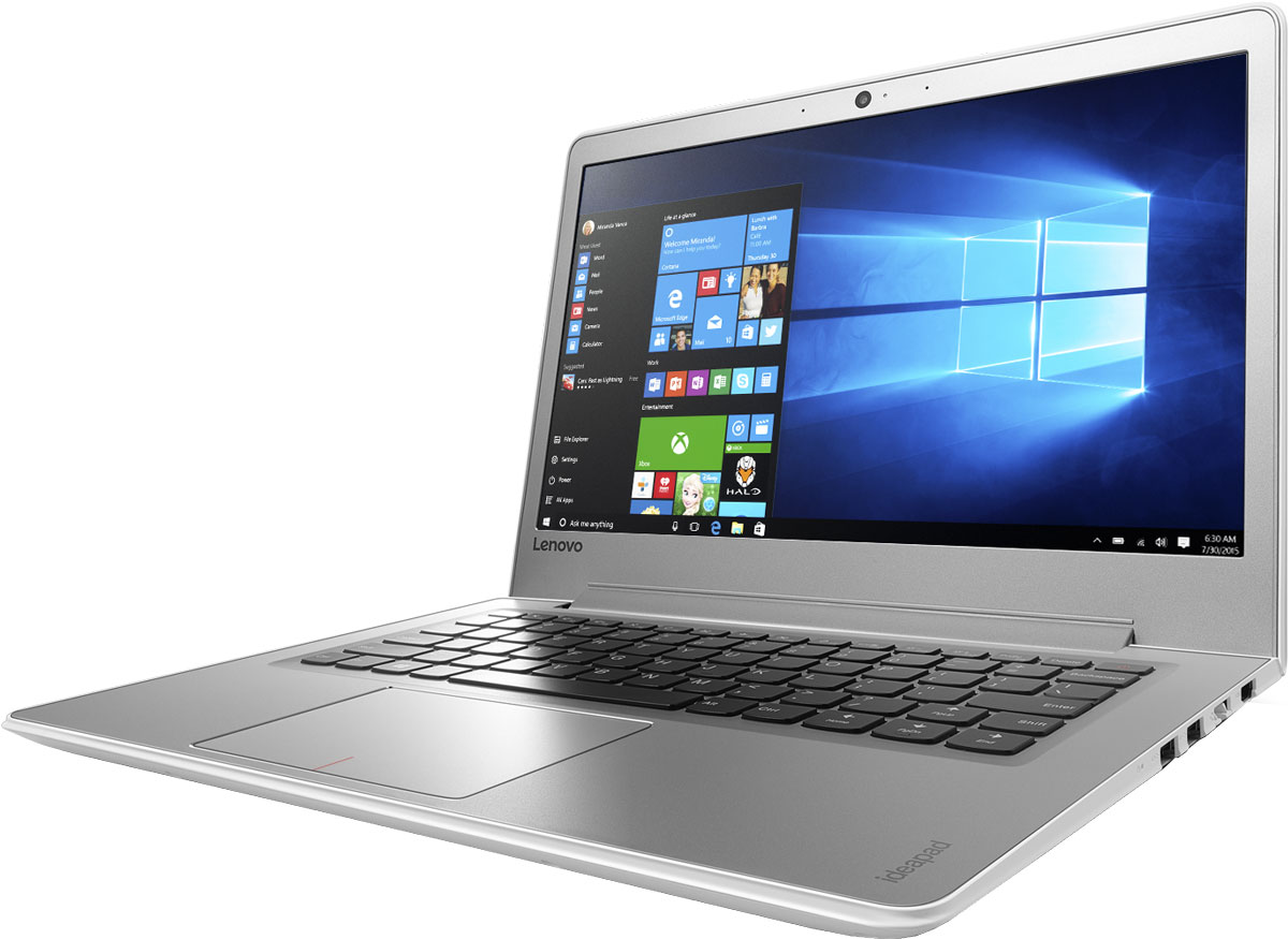 Lenovo IdeaPad 510S-13IKB, White (80V00061RK)80V00061RKТонкий и легкий 13,3-дюймовый ноутбук Lenovo IdeaPad 510S позволяет тебе эффективно работать и развлекаться, где бы ты ни находился. Ультрамобильный мощный ноутбук Lenovo IdeaPad 510S отлично подойдет для работы, развлечений и игр в поездках. IdeaPad 510S на 20 процентов тоньше и на 30 процентов легче большинства ноутбуков в своем классе.Высокопроизводительный, многофункциональный процессор Intel Core i5-7200U со встроенными функциями обеспечения безопасности открывает качественно новые возможности для работы, творчества и развлечений. Разбуди свою фантазию и раздвинь границы возможного при помощи ОС Windows 10, дополненной процессором Intel Core седьмого поколения и дискретной видеокартой AMD Radeon R5 M430.Два стереофонических динамика Harman Audio обеспечивают отличный звук при просмотре фильмов и прослушивании музыки. Если нужно расслабиться - просто включи и наслаждайся звуком.До трех раз более высокая (по сравнению с традиционной) скорость Wi-Fi 802.11 a/c ноутбука IdeaPad 510S позволит тебе путешествовать по просторам Интернета, слушать музыку или смотреть фильмы и общаться с друзьями быстрее, чем когда-либо.Оставлять ноутбук без присмотра в шумном кафе может быть опасно. Впрочем, в этом нет ничего страшного - IdeaPad 510S совместим с замками Kensington MiniSaver. Эти прочные и простые в использовании замки защитят твое устройство от кражи.Точные характеристики зависят от модификации.Ноутбук сертифицирован ЕАС и имеет русифицированную клавиатуру и Руководство пользователя.