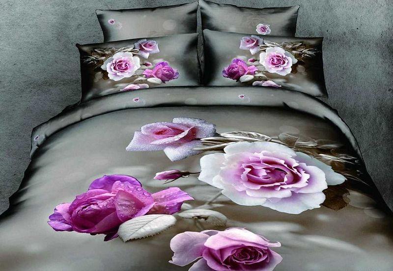 Комплект белья МарТекс Роза, 1,5-спальный, наволочки 50х70. 01-0082-101-0082-1Комплект постельного белья МарТекс Роза, выполненный из сатина (100% хлопок), состоит из пододеяльника, простыни и двух наволочек. Изделия оформлены оригинальным рисунком. Сатин - прочная, легкая и мягкая на ощупь ткань. Белье из него нелиняет при стирке и легко гладится. Эта ткань традиционно считаетсяодной из лучших для изготовления постельного белья.Такой комплект подойдет для любого стилевого и цветового решения интерьера, а также создаст в доме уют. Приобретая комплект постельного белья МарТекс, вы можете быть уверенны в том, что покупкадоставит вам и вашим близким удовольствие и подарит максимальный комфорт.