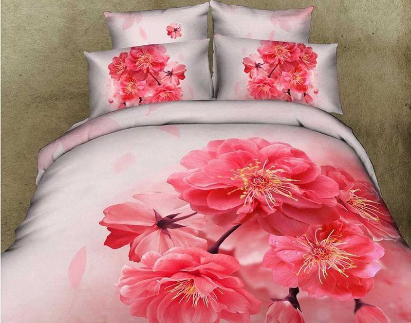Комплект белья МарТекс Адель, 2-спальный, наволочки 70х7001-0095-2Комплект постельного белья МарТекс Адель, выполненный из сатина (100%хлопок), состоит из пододеяльника, простыни и двух наволочек. Изделия оформлены изящным рисунком. Пододеяльник на молнии.Сатин - прочная, легкая и мягкая на ощупь ткань. Белье из него нелиняет при стирке и легко гладится. Эта ткань традиционно считаетсяодной из лучших для изготовления постельного белья.Такой комплект подойдет для любого стилевого и цветового решения интерьера, а также создаст в доме уют.