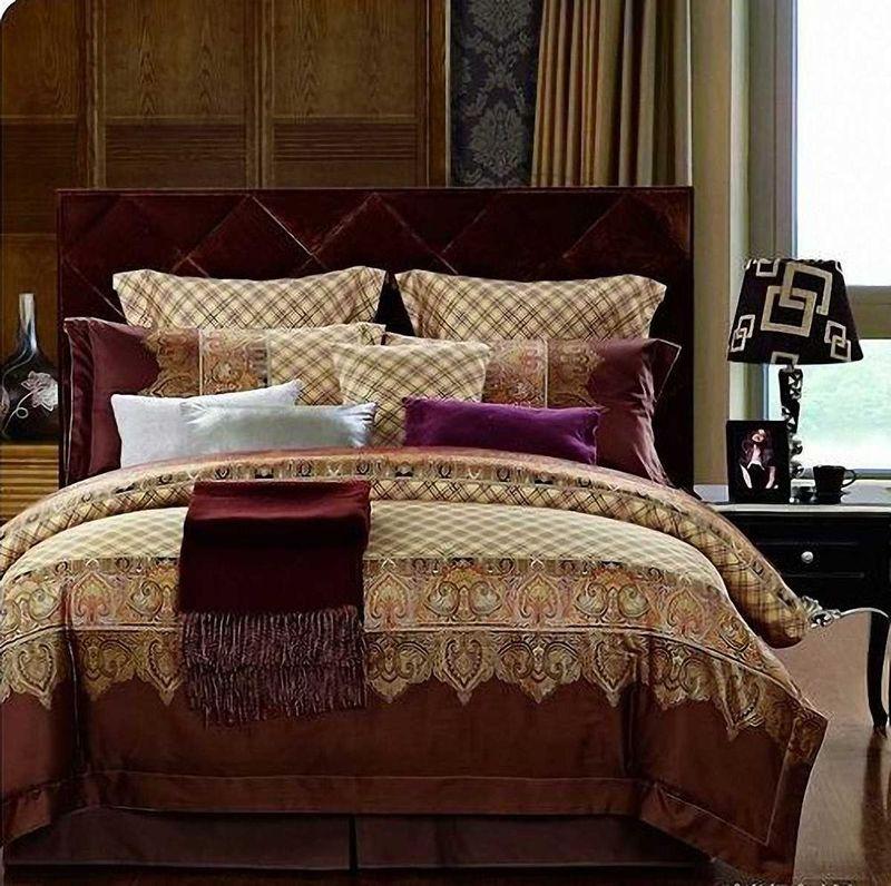 Комплект белья МарТекс Марокко, 2-спальный, наволочки 70х7001-0481-2Комплект постельного белья МарТекс Марокко, выполненный из сатина (100% хлопок), состоит из пододеяльника, простыни и двух наволочек. Изделия оформлены оригинальным принтом. Сатин - прочная, легкая и мягкая на ощупь ткань. Белье из него нелиняет при стирке и легко гладится. Эта ткань традиционно считаетсяодной из лучших для изготовления постельного белья.Такой комплект подойдет для любого стилевого и цветового решения интерьера, а также создаст в доме уют. Приобретая комплект постельного белья МарТекс, вы можете быть уверенны в том, что покупкадоставит вам и вашим близким удовольствие и подарит максимальный комфорт.