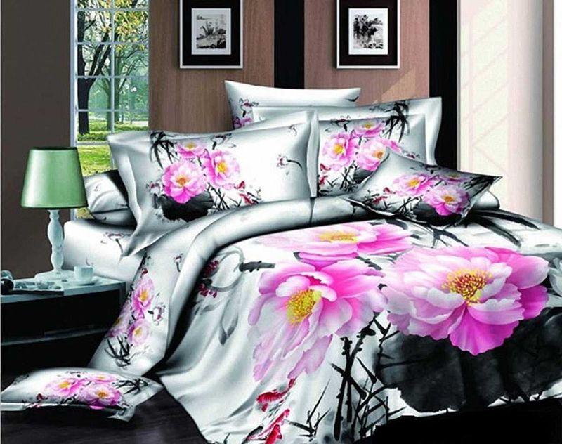 Комплект белья МарТекс Элегант, 1,5-спальный, наволочки 50х7001-0485-1Комплект постельного белья МарТекс Элегант, выполненный из сатина (100% хлопок), состоит из пододеяльника, простыни и двух наволочек. Изделия оформлены оригинальным принтом. Сатин - прочная, легкая и мягкая на ощупь ткань. Белье из него нелиняет при стирке и легко гладится. Эта ткань традиционно считаетсяодной из лучших для изготовления постельного белья.Такой комплект подойдет для любого стилевого и цветового решения интерьера, а также создаст в доме уют. Приобретая комплект постельного белья МарТекс, вы можете быть уверенны в том, что покупкадоставит вам и вашим близким удовольствие и подарит максимальный комфорт.