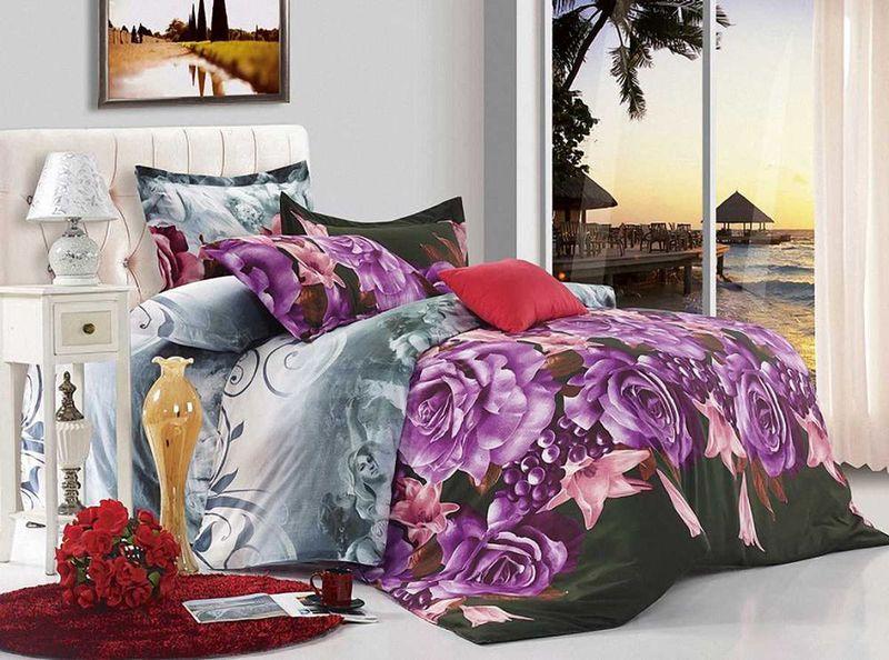 Комплект белья МарТекс Этюд, евро, наволочки 50х70, 70х7001-0653-3Комплект постельного белья МарТекс Этюд, выполненный из микрополиэстера, состоит из пододеяльника, простыни и четырех наволочек. Изделия оформлены оригинальным рисунком. Такой комплект подойдет для любого стилевого и цветового решения интерьера, а также создаст в доме уют. Приобретая комплект постельного белья МарТекс, вы можете быть уверенны в том, что покупкадоставит вам и вашим близким удовольствие и подарит максимальный комфорт.