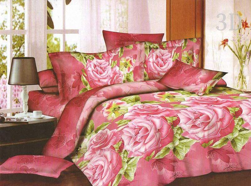 Комплект белья МарТекс МарТекс, 1,5-спальный, наволочки 50х7001-1148-1Комплект постельного белья МарТекс МарТекс, выполненный из микрополиэстера, состоит из пододеяльника, простыни и двух наволочек. Изделия оформлены оригинальным рисунком. Такой комплект подойдет для любого стилевого и цветового решения интерьера, а также создаст в доме уют. Приобретая комплект постельного белья МарТекс, вы можете быть уверенны в том, что покупка доставит вам и вашим близким удовольствие и подарит максимальный комфорт.