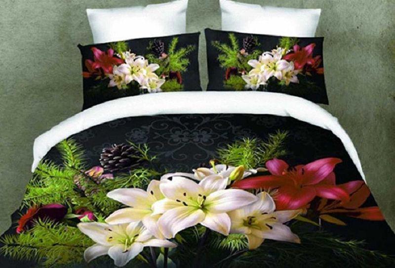 Комплект белья МарТекс, 2-спальный, наволочки 70х70. 01-1155-2