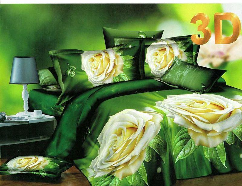 Комплект белья МарТекс Карина, 2-спальный, наволочки 70х7001-1176-2Комплект постельного белья МарТекс Карина, выполненный из микрополиэстера, состоит из пододеяльника, простыни и двух наволочек. Изделия оформлены оригинальным рисунком. Такой комплект подойдет для любого стилевого и цветового решения интерьера, а также создаст в доме уют. Приобретая комплект постельного белья МарТекс, вы можете быть уверенны в том, что покупка доставит вам и вашим близким удовольствие и подарит максимальный комфорт.
