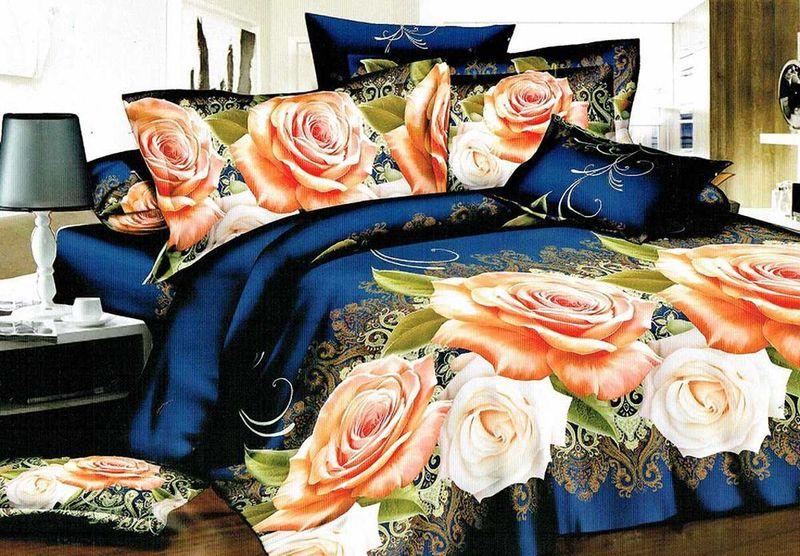 Комплект белья МарТекс Жури, 2-спальный, наволочки 70х7001-1222-2Комплект постельного белья МарТекс Жури, выполненный из микрополиэстера, состоит из пододеяльника, простыни и двух наволочек. Изделия оформлены оригинальным рисунком. Такой комплект подойдет для любого стилевого и цветового решения интерьера, а также создаст в доме уют. Приобретая комплект постельного белья МарТекс, вы можете быть уверенны в том, что покупка доставит вам и вашим близким удовольствие и подарит максимальный комфорт.