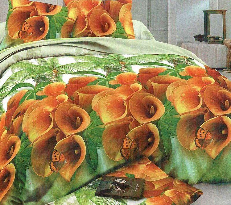 Комплект белья МарТекс Кокарде, 1,5-спальный, наволочки 70х7001-1238-1Комплект постельного белья МарТекс Кокарде, выполненный из микрополиэстера, состоит из пододеяльника, простыни и двух наволочек. Изделия оформлены оригинальным рисунком. Такой комплект подойдет для любого стилевого и цветового решения интерьера, а также создаст в доме уют. Приобретая комплект постельного белья МарТекс, вы можете быть уверенны в том, что покупка доставит вам и вашим близким удовольствие и подарит максимальный комфорт.