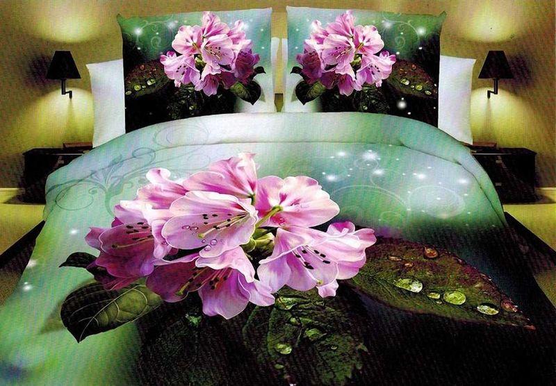 Комплект белья МарТекс Гортензия, 2-спальный, наволочки 70х7001-1277-2Комплект постельного белья МарТекс Гортензия, выполненный из микрополиэстера, состоит из пододеяльника, простыни и двух наволочек. Изделия оформлены оригинальным рисунком. Такой комплект подойдет для любого стилевого и цветового решения интерьера, а также создаст в доме уют. Приобретая комплект постельного белья МарТекс, вы можете быть уверенны в том, что покупкадоставит вам и вашим близким удовольствие и подарит максимальный комфорт.