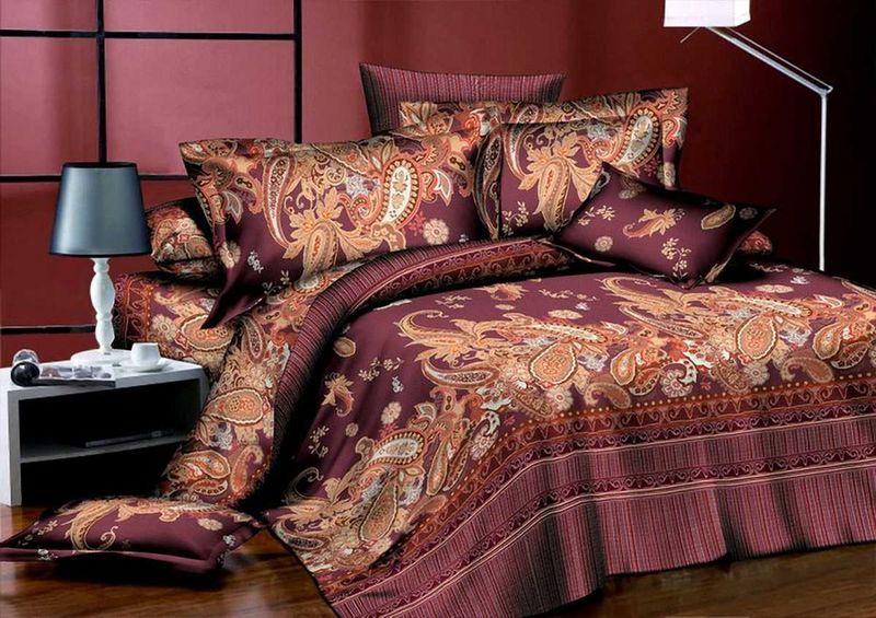 Комплект белья МарТекс Сирокко, 1,5-спальный, наволочки 70х7001-1282-1Комплект постельного белья МарТекс Сирокко, выполненный из микрополиэстера, состоит из пододеяльника, простыни и двух наволочек. Изделия оформлены оригинальным рисунком. Такой комплект подойдет для любого стилевого и цветового решения интерьера, а также создаст в доме уют. Приобретая комплект постельного белья МарТекс, вы можете быть уверенны в том, что покупкадоставит вам и вашим близким удовольствие и подарит максимальный комфорт.