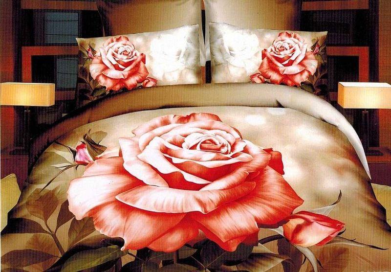 Комплект белья МарТекс Селена, 2-спальный, наволочки 70х7001-1301-2Комплект постельного белья МарТекс Селена, выполненный из микрополиэстера, состоит из пододеяльника, простыни и двух наволочек. Изделия оформлены оригинальным рисунком. Такой комплект подойдет для любого стилевого и цветового решения интерьера, а также создаст в доме уют. Приобретая комплект постельного белья МарТекс, вы можете быть уверенны в том, что покупка доставит вам и вашим близким удовольствие и подарит максимальный комфорт.