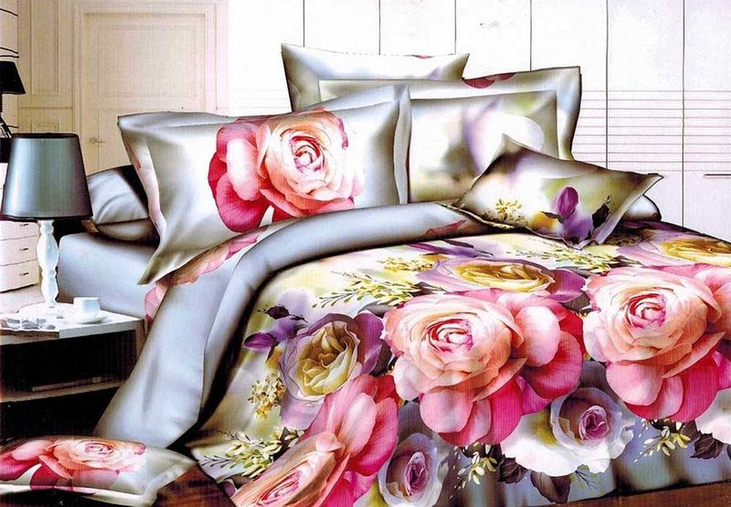 Комплект белья МарТекс Сафина, 1,5-спальный, наволочки 70х7001-1310-1Комплект постельного белья МарТекс Сафина, выполненный из микрополиэстера, состоит из пододеяльника, простыни и двух наволочек. Изделия оформлены оригинальным рисунком. Такой комплект подойдет для любого стилевого и цветового решения интерьера, а также создаст в доме уют. Приобретая комплект постельного белья МарТекс, вы можете быть уверенны в том, что покупка доставит вам и вашим близким удовольствие и подарит максимальный комфорт.