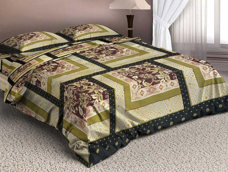 Комплект белья МарТекс Белат, 2-спальный, наволочки 70х7001-1331-2Комплект постельного белья МарТекс Белат, выполненный из микрополиэстера, состоит из пододеяльника, простыни и двух наволочек. Изделия оформлены оригинальным принтом.Такой комплект подойдет для любого стилевого и цветового решения интерьера, а также создаст в доме уют. Приобретая комплект постельного белья МарТекс, вы можете быть уверенны в том, что покупка доставит вам и вашим близким удовольствие и подарит максимальный комфорт.Советы по выбору постельного белья от блогера Ирины Соковых. Статья OZON Гид