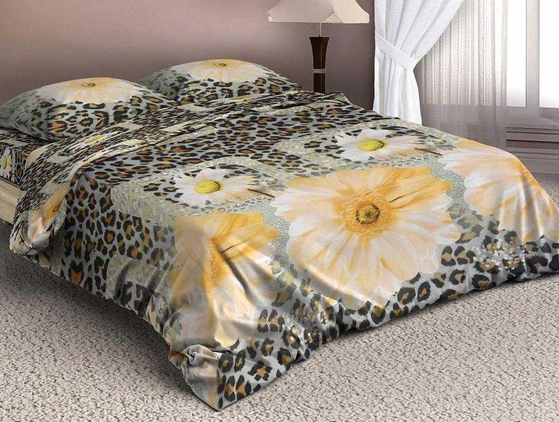 Комплект белья МарТекс Гарбис, 1,5-спальный, наволочки 50х7001-1338-1Комплект постельного белья МарТекс Гарбис, выполненный из микрополиэстера, состоит из пододеяльника, простыни и двух наволочек. Изделия оформлены оригинальным рисунком. Такой комплект подойдет для любого стилевого и цветового решения интерьера, а также создаст в доме уют. Приобретая комплект постельного белья МарТекс, вы можете быть уверенны в том, что покупкадоставит вам и вашим близким удовольствие и подарит максимальный комфорт.