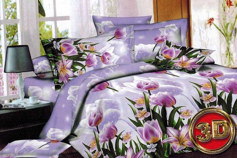 Комплект белья МарТекс Симона, 2-спальный, наволочки 70х7001-1364-2Комплект постельного белья МарТекс Симона, выполненный из микрополиэстера, состоит из пододеяльника, простыни и двух наволочек. Изделия оформлены изящным рисунком. Пододеяльник на молнии.Такой комплект подойдет для любого стилевого и цветового решения интерьера, а также создаст в доме уют.
