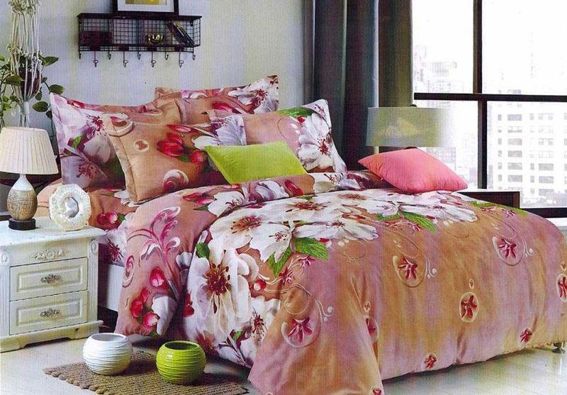 Комплект белья МарТекс Леван, 2-спальный, наволочки 70х7001-1367-2Комплект постельного белья МарТекс Леван, выполненный из микрополиэстера, состоит из пододеяльника, простыни и двух наволочек. Изделия оформлены оригинальным рисунком. Такой комплект подойдет для любого стилевого и цветового решения интерьера, а также создаст в доме уют. Приобретая комплект постельного белья МарТекс, вы можете быть уверенны в том, что покупка доставит вам и вашим близким удовольствие и подарит максимальный комфорт.