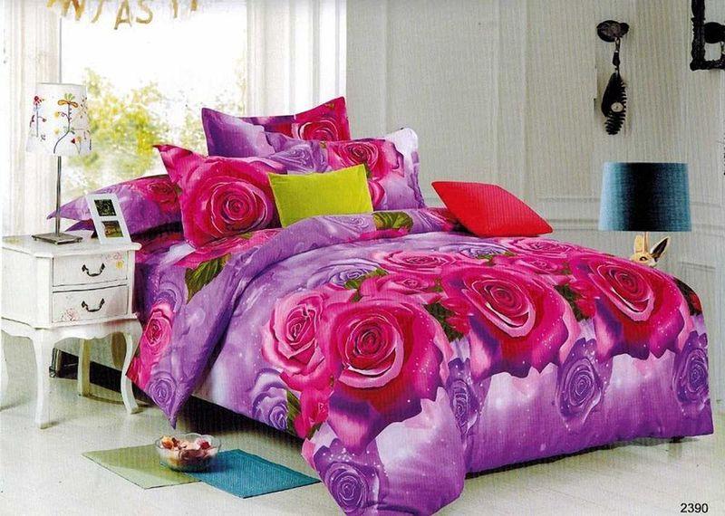 Комплект белья МарТекс Саут, 2-спальный, наволочки 70х70