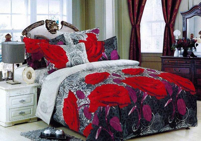 Комплект белья МарТекс Двина, евро, наволочки 50х70, 70х7001-1384-3Комплект постельного белья МарТекс Двина, выполненный из микрополиэстера, состоит из пододеяльника, простыни и четырех наволочек. Изделия оформлены оригинальным рисунком. Такой комплект подойдет для любого стилевого и цветового решения интерьера, а также создаст в доме уют. Приобретая комплект постельного белья МарТекс, вы можете быть уверенны в том, что покупкадоставит вам и вашим близким удовольствие и подарит максимальный комфорт.