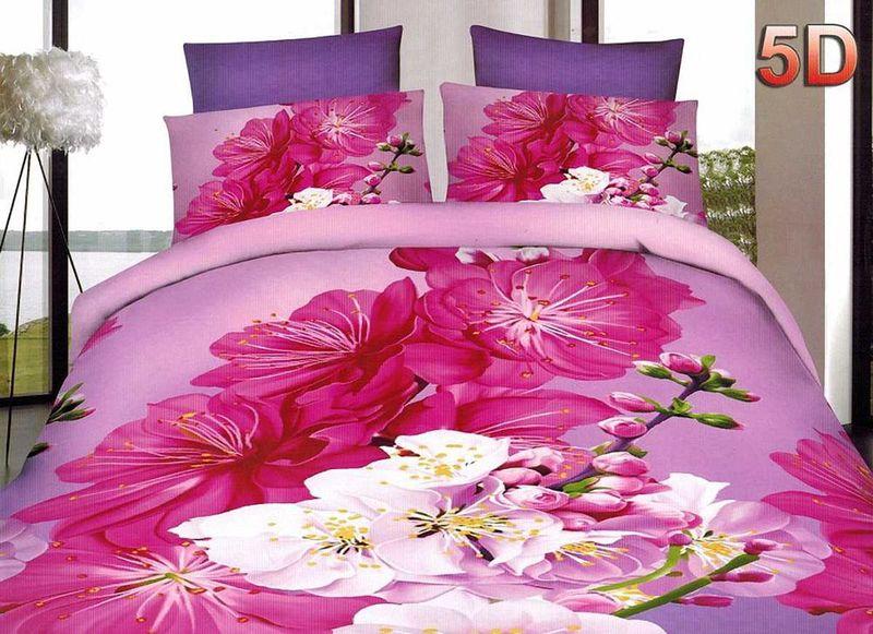 Комплект белья МарТекс, 2-спальный, наволочки 70х70. 01-1449-2