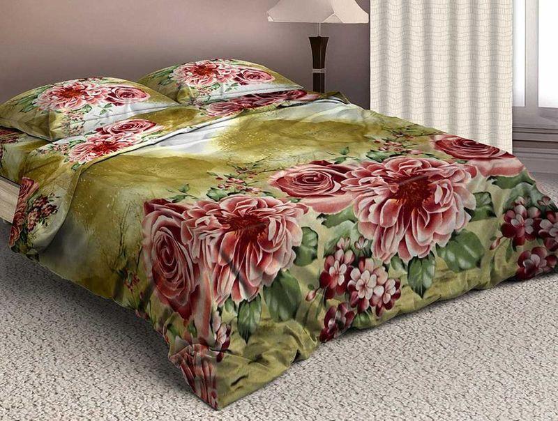 Комплект белья МарТекс Чайная роза, евро, наволочки 50х70, 70х7001-1572-3Комплект постельного белья МарТекс Чайная роза, выполненный из микрополиэстера, состоит из пододеяльника, простыни и четырех наволочек. Изделия оформлены оригинальным рисунком.Такой комплект подойдет для любого стилевого и цветового решения интерьера, а также создаст в доме уют. Приобретая комплект постельного белья МарТекс, вы можете быть уверенны в том, что покупкадоставит вам и вашим близким удовольствие и подарит максимальный комфорт.Советы по выбору постельного белья от блогера Ирины Соковых. Статья OZON Гид