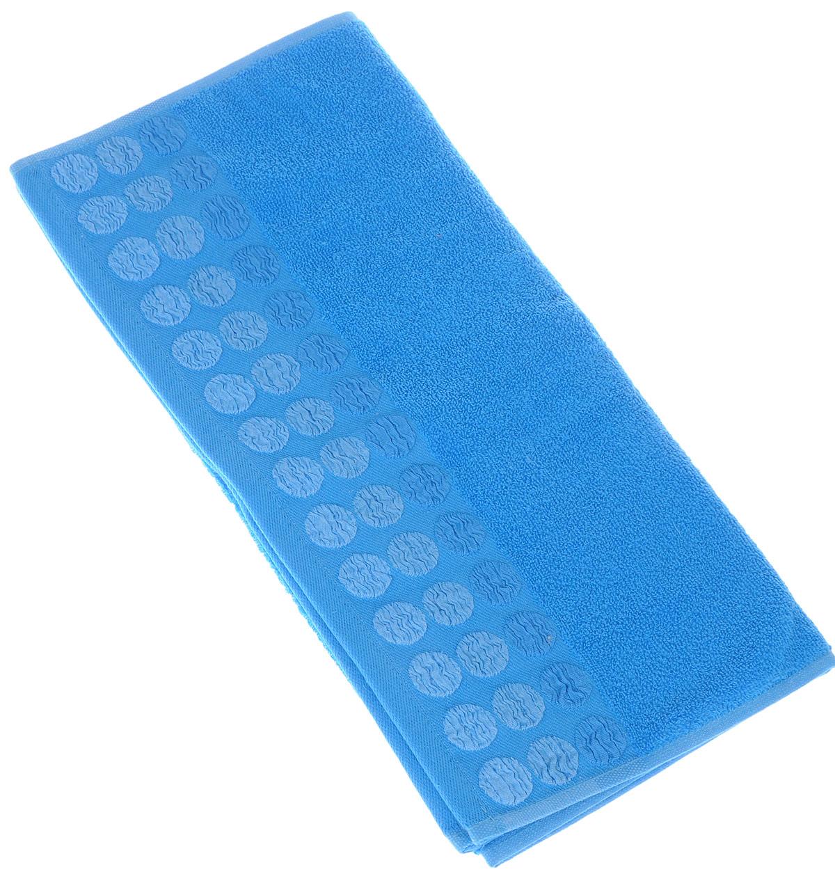 Полотенце Brielle Point, цвет: синий, 50 х 90 см1207Полотенце Brielle Point выполнено из 100% хлопка. Изделие очень мягкое, оно отлично впитывает влагу, быстро сохнет, сохраняет яркость цвета и не теряет формы даже после многократных стирок. Модель оформлена рисунком.Полотенце Brielle Point очень практично и неприхотливо в уходе. Такое полотенце послужит приятным подарком.