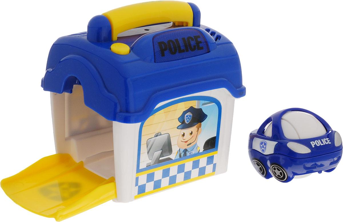 Playgo Игровой набор Полицейский участок с машинкой