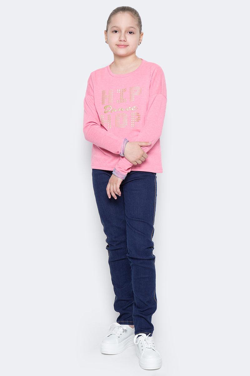 Свитшот для девочки Sela, цвет: ярко-розовый. St-613/078-7122. Размер 152, 12 летSt-613/078-7122Стильный свитшот для девочки Sela выполнен из качественного трикотажа и оформлен надписью. Модель прямого кроя с удлиненной спинкой и руквами летучая мышь подойдет для прогулок и дружеских встреч и будет отлично сочетаться с джинсами и разными брюками. Мягкая ткань на основе хлопка и полиэстера комфортна и приятна на ощупь.