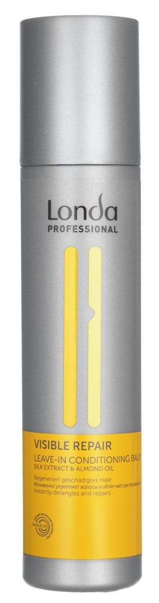 Бальзам-кондиционер Londa Visible Repair, для поврежденных волос, 250 мл0990-81524961Бальзам-кондиционер Londa Visible Repair - легкая эксклюзивная салонная формула питает и восстанавливает поврежденные волосы. Предотвращает статический эффект, делая волосы шелковистыми и сильными. Обеспечивает легкость расчесывания. Применение: нанести на влажные волосы. Не смывать. Товар сертифицирован.