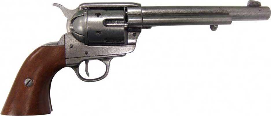 Кавалерийский револьвер системы Кольт. Оружейная реплика. США, 1873 год, сталь в москве травматический револьвер таурус
