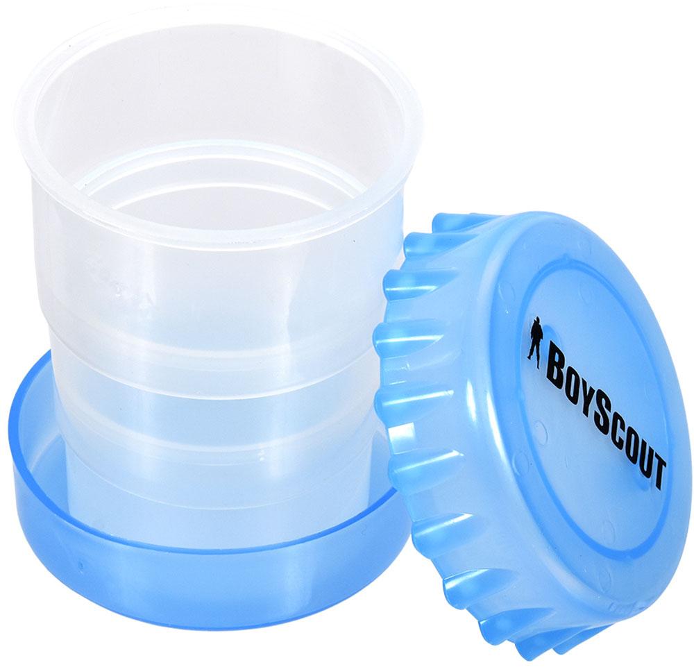 Стакан Boyscout, складной, 200 мл61132Складной стакан изготовлен из высококачественного пищевого пластика. Такой стакан станет незаменимым в походах и путешествиях, где обычные сосуды для питья были бы слишком громоздки или неудобны.