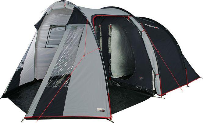 Палатка High Peak Ancona 5, цвет: серый, 465 х 300 х 200 см. 10246