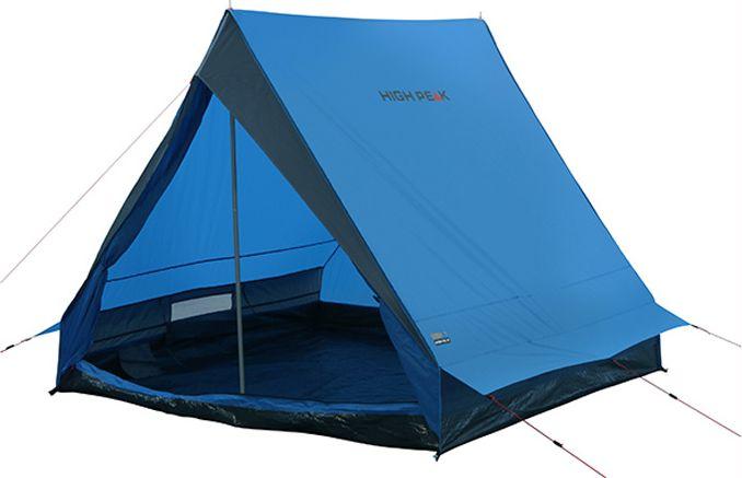 Палатка High Peak Scout 2, цвет: синий, темно-серый, 210 х 140 х 130 см. 11400 high peak campo 2
