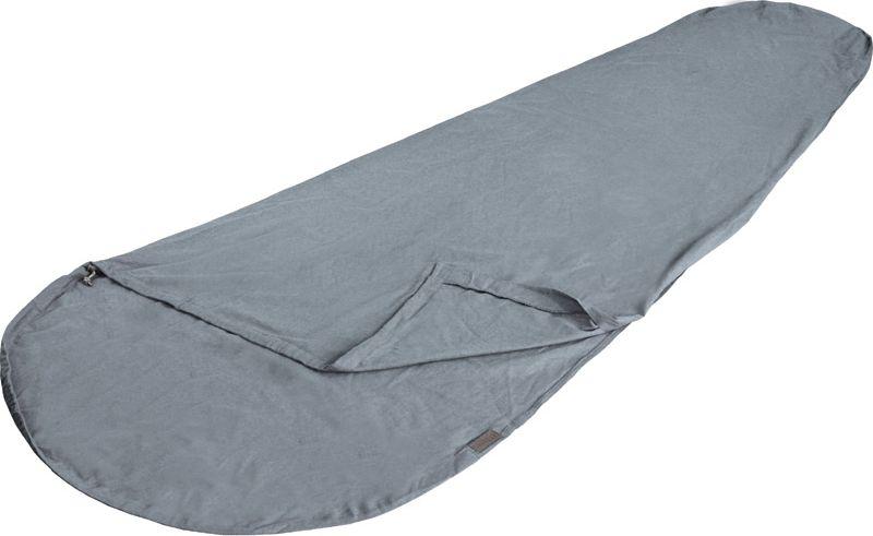 Вставка в Спальный мешок High Peak TC Inlett Mummy, цвет: серый, 225 х 90/60 см. 23523 спальный мешок high peak lowland