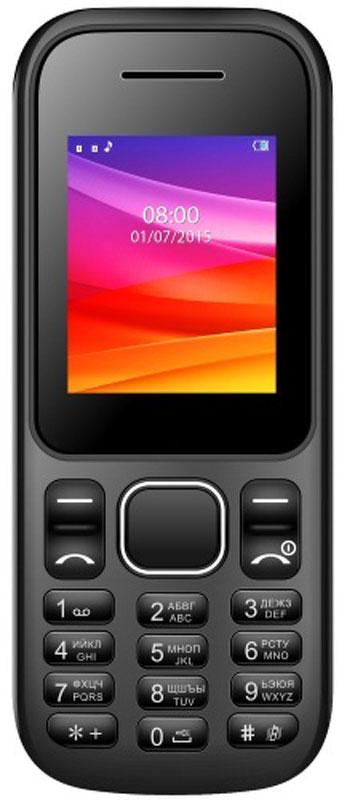 Vertex M105, BlackM105-BLМобильный телефон Vertex M105 - простой и удобный в использовании телефон на каждый день! Поддерживает 2G интернет, отправку MMS и оснащен фонариком.Легкий и компактный корпус, классичесикий черный цвет, удобная клавиатура - все сделано для вашего комфорта при использовании телефона М105. Одновременная работа двух SIM-карт позволяет всегда оставаться на связи. Совместите рабочий и личный номер в одном устройстве, чтобы не пропустить ни одного звонка!Телефон сертифицирован EAC и имеет русифицированную клавиатуру, меню и Руководство пользователя.