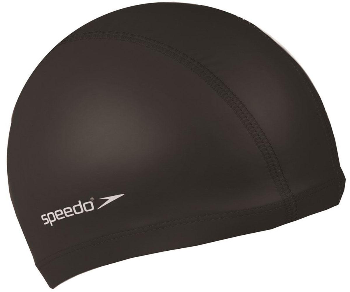 Шапочка для плавания Speedo Speedo Pace Cap, цвет: черный8-720640001Speedo Pace Cap – это великолепная комбинированная шапочка для плавания. Она изготовлена из лайкры, нейлона и внешнего полиуретанового покрытия. Благодаря такому составу, обеспечивается непревзойденный уровень комфорта. Шапочка легко надевается и снимается, не давит на голову и при этом не пропускает влагу. Благодаря водоотталкивающим свойствам, которыми обладает модель, уменьшается сопротивление воды, действующее на голову спортсмена. В то же время все материалы, из которых изготовлена эта шапочка, для плавания очень легкие и невероятно прочные. Широкий цветовой ассортимент позволяет подобрать шапочку для каждого.Специалисты рекомендуют Speedo Pace Cap как для профессиональных спортсменов, так и для любителей плавания.Характеристики модели:- шапочка для плавания- высококачественное изделие- состоит из нескольких слоев- логотип SpeedoПреимущества модели:- комфорт- долгий срок службы- не давит на голову- легкость в надевании и снимании- обладает водоотталкивающими свойствамиМатериалы:- лайкра / нейлон- внешнее покрытие – полиуретан