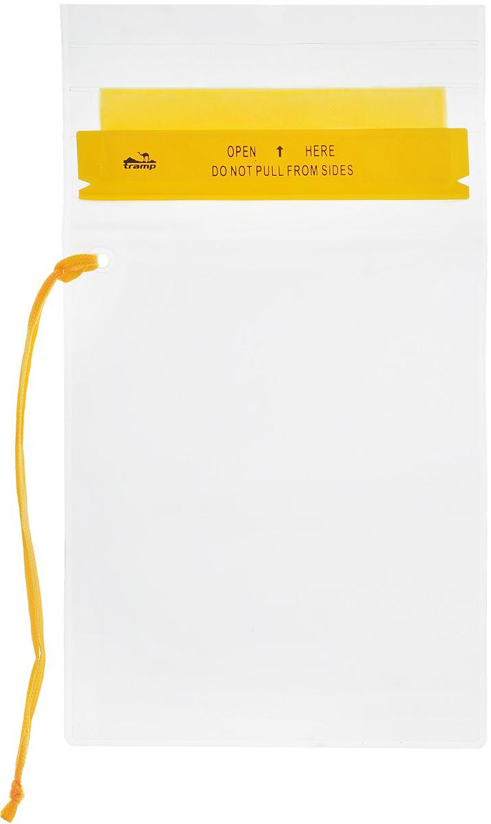 Гермопакет Tramp, цвет: желтый, 18 х 25 см