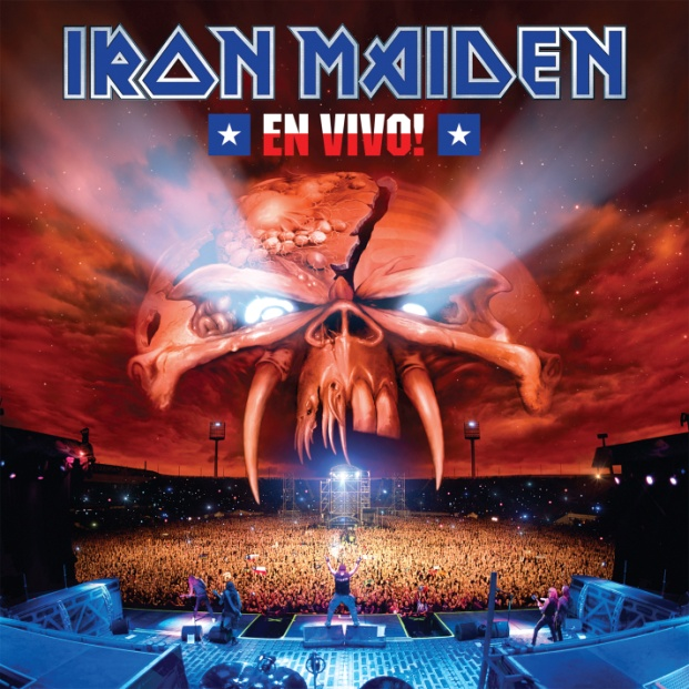 Iron Maiden Iron Maiden. En Vivo (2 LP) iron maiden iron maiden can i play with madness lp