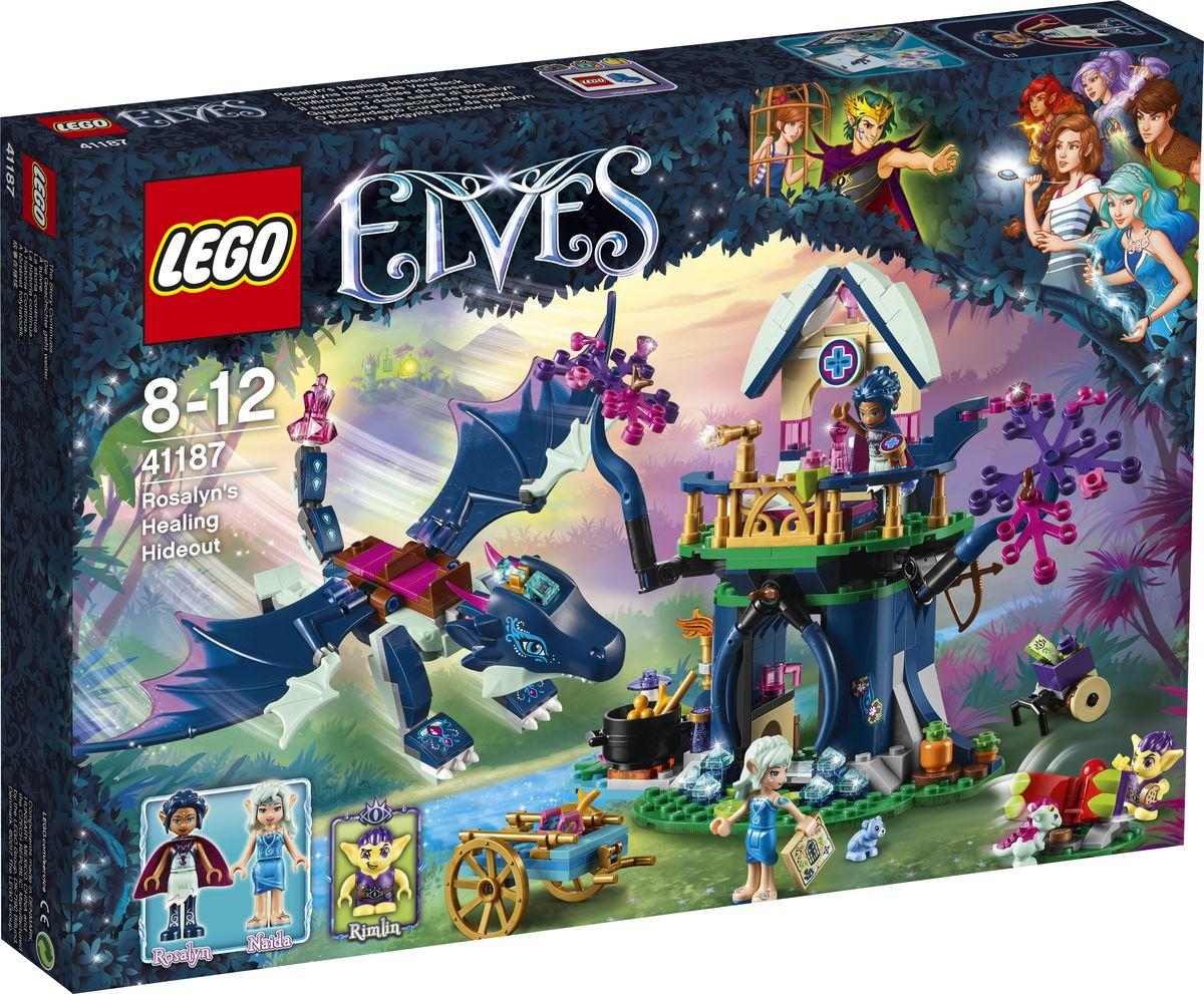 LEGO Elves Конструктор Тайная лечебница Розалин 41187 конструктор lego elves встреча наиды с гоблином воришкой 41181