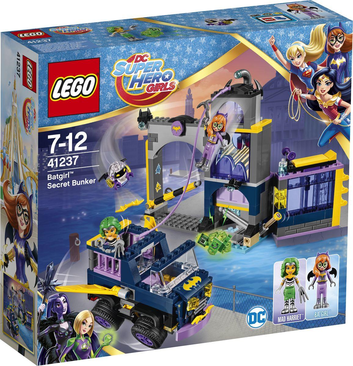 LEGO DC Super Hero Girls Конструктор Секретный бункер Бэтгерл 41237 секретный бункер бэтгёрл 41237 dc super hero girls lego