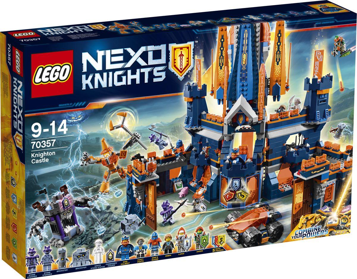 LEGO NEXO KNIGHTS Конструктор Королевский замок Найтон 70357 конструктор lego nexo knights 70357 королевский замок найтон