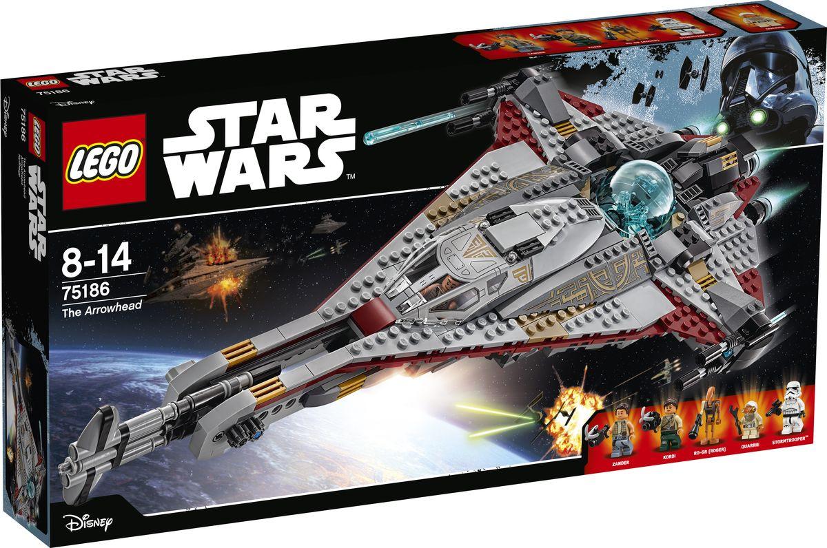 LEGO Star Wars Конструктор Стрела 75186 проверьте товар на соответствие сертификатов а