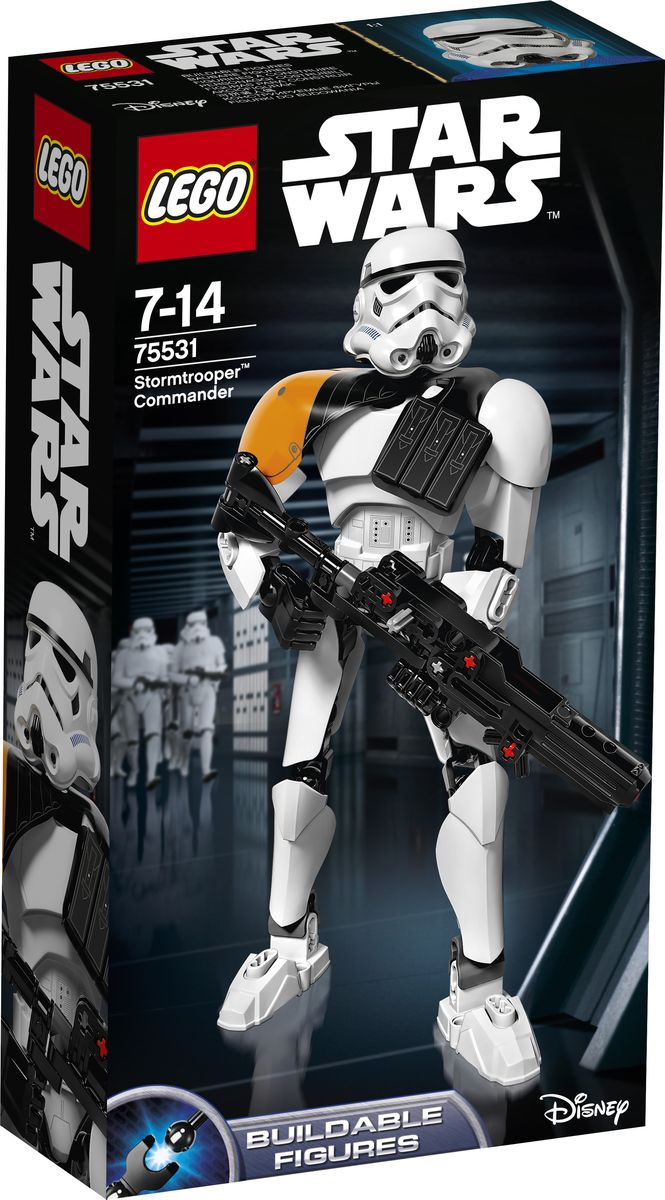 LEGO Star Wars Фигурка-конструктор Командир Штурмовиков 75531