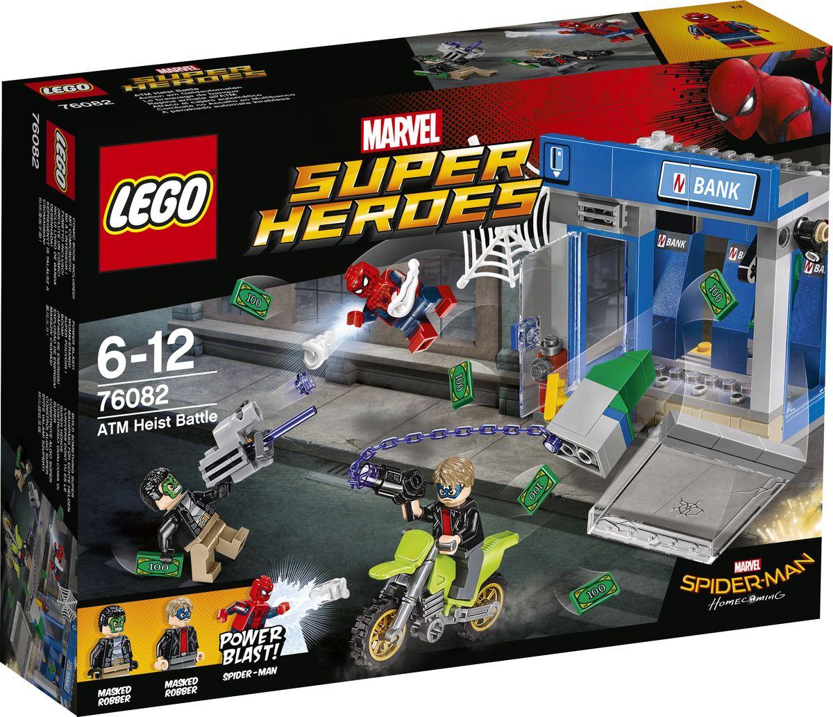 LEGO Super Heroes Конструктор Ограбление банкомата 76082 конструктор lego super heroes 76054 бэтмен жатва страха