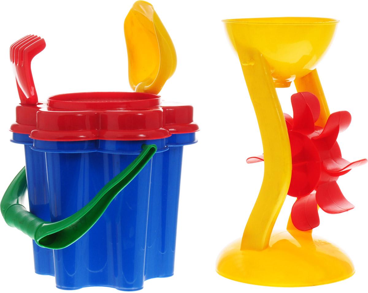 Hemar Набор для песочницы 5 предметов П-0475 hemar набор для песочницы авто ptys 9 предметов